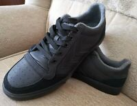 Hummel Stadil Black Oiled Low Winter Trainers Mens UK 9 US 10 EU 44 Casual Shoes