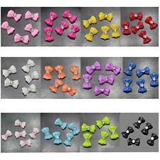 Blueness 50pcs  Nail Art Bow MultiColor Rhinestone Decoration Jewelry JH052