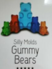 Silicone Gummy Bear Worm Mold Candy Chocolate Baking Animals Bears Mold