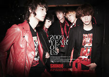 SHINEE 3RD MINI ALBUM [ 2009 YEAR OF US RING DING DONG] NEW SEALED
