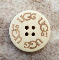 UGG Bailey Boots Natural / Beige Colour Button x 1 - New