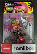 Neon Pink Inkling Girl Amiibo Splatoon Series Nintendo Switch Wii U 3DS *NEW*