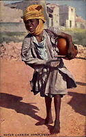 Egyptian Gazette Series Egypt Ägypten Postcard ~1910 Water Carrier Wasserträger