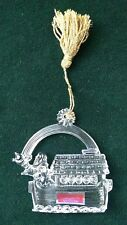 Waterford Noah On The Arc Crystal Ornament       142560     NIB!          (OM11)