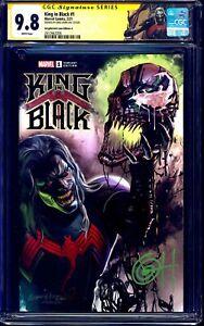 King In Black #1 CGC SS 9.8 signed Greg Horn VARIANT CUSTOM KNULL LABEL NM/MT