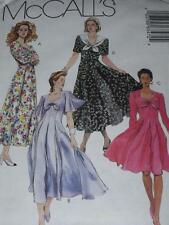 """McCALL'S #6347- LADIES BEAUTIFUL SWEETHEART or """"V"""" NECKLINE DRESS PATTERN 8-12FF"""