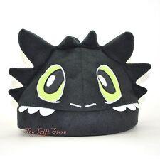 HT Toothless Night Fury Plush Hat Cap #1