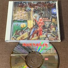 """IRON MAIDEN Bring Your Daughter JAPAN 3-track 5"""" CD TOCP-6572 w/PS BOOKLET FreeS"""