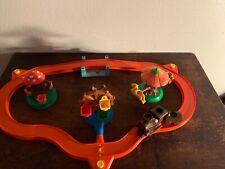 Vtg Winnie The Pooh Hundred Acre Wood Train Playset Figures Disney