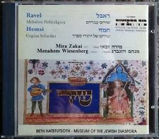 Ravel, Hemsi - Melodies Hebraiques, Coplas Sefardies