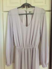 Show Me Your Mumu Jocelyn Blouson Gown in Light Lavendar, Size S