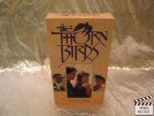 The Thorn Birds (VHS, 1992) Part Two Richard Chamberlain Rachel Ward