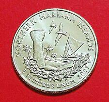 2009-P 25C Northern Mariana Islands US Territory Quarter -Uncirculated Mint Roll