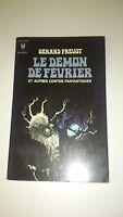 Gérard Prévot - Le démon de février - Marabout Poche (N°369, 1970)