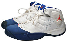 2006 Quentin Richardson New York Knicks Game-Used & Dual Autographed Jordan PE's