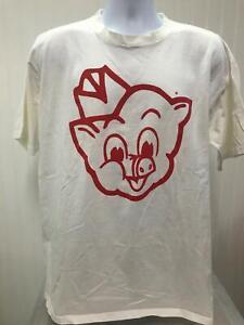 Piggly Wiggly Supermarket I'm Big on the Pig Store Promo Vtg Mens XL T-shirt