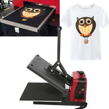 T-shirt Mug Hat Plate Heat Press Machine Sublimation Printing Transfer NEW