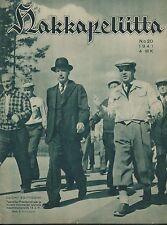 Finland Wartime Magazine Hakkapeliitta 1941 #20 - WWII