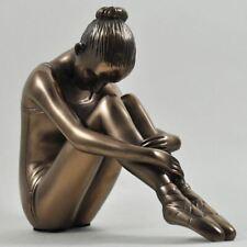 Preparing Ballerina Ballet Bronze Figurine Sculpture Statue Ornament