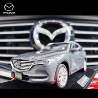 1/18 Scale Mazda CX8 CX-8 SUV 2019 Grey Diecast Model Car Toy Collection