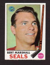 Bert Marshall Oakland Seals 1969-70 Topps Hockey Card #80 EX/MT- NM