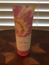 bath and body works pink tie dye body cream ultra shea 8 oz aloe cocoa butter