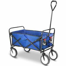 Beach Wagon Cart Kid Folding Storage Outdoor Camping Trolley Garden Utility