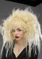 Womens Halloween Blonde Backcombed Zombie Wig