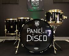SJC Custom Drums Panic! At The Disco Tour Drum Set!