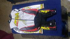 Sugio Cycling Speedsuit (S/P) and Vest Windbreaker Racing Kit Skin Suit LS DNA