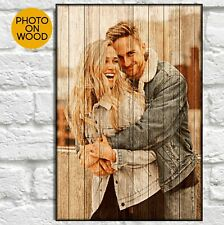 Anniversary Gifts For Men Personalised Gift For Husband For Him Wood Photo Frame