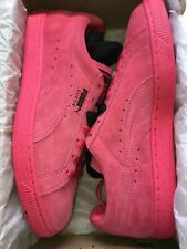 NEW Puma Suede Classic + Men's Shoes Teaberry Red Black Mono 356568-69