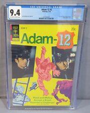 ADAM 12 #3 (Kent McCord & Milner Photo Cover) CGC 9.4 NM Gold Key Comics 1974