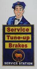 GOLDEN FLEECE, SERVICE,TUNE-UP,BRAKES  560X275 ALL WEATHER, METAL SIGN AGED LOOK