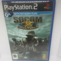 Socom U.S. Navy Seals Original PS2 Playstation 2 Game + Instructions