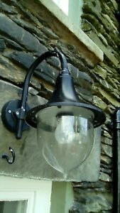Augenti Black Iron Style Outdoor Light.