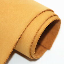 Usa Yellow Gold Genuine Leather Square Diy Crafts Cowhide Matte texture Leather