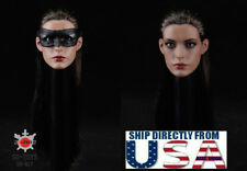 1/6 Anne Hathaway Head Sculpt Mask Catwoman For HotToys Phicen Female Figure USA