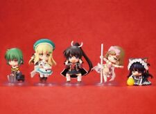 Senran Kagura 2 Shinku 3DS Niitengo Chibi mini figure Set of 5 NEW