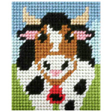 ORCHIDEA Kit Broderie - Alpin vache - Travaux d'aiguille KITS