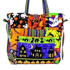HALLOWEEN ~ Handmade Tote bag ~ 100% Cotton Prewashed ~ Quilt Fabric   (# C)