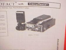 1978 MIDLAND CB RADIO SERVICE SHOP MANUAL MODEL 77-861