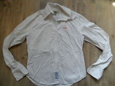 LA MARTINA schöne klassische Bluse creme Gr. M TOP KoS817