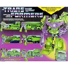 Nouveau Transformers CONSTRUCTION WARRIR DEVASTATOR Réédition Livraison Gratuite