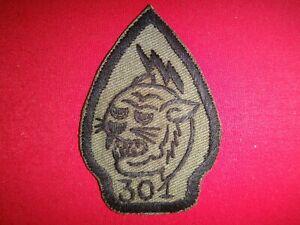Vietnam War Hand Made Subdued Patch ARVN Civilian Irregular Defense CIDG Co. 301