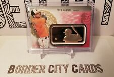 Trey Mancini 2019 Topps Series 2 MLB Logo Patch ** Red SSP ** #d /25 Orioles