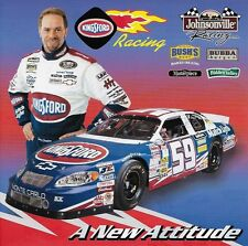"2003 Stacy Compton ""KINGSFORD Racing"" #59 NASCAR Busch Series Postkarte"