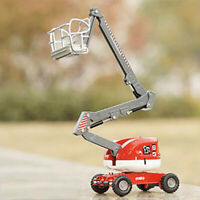 1:87 Metal Alloy Diecast Construction Vehicle Model Aerial Platform Truck Car