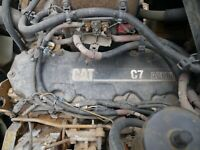 Cat C7 Acert Engine Complete - Good running engine Hear it run