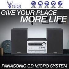 Panasonic Hi Fi Stereo System USB CD Player MP3 2x Speakers Music Entertainment